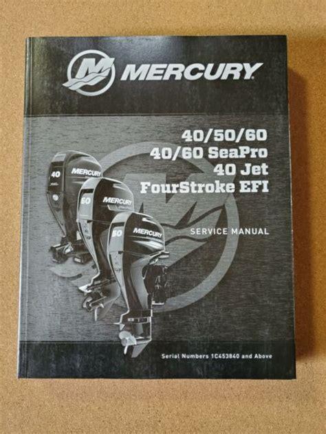 2012 Mercury 40 Jet Service Manual
