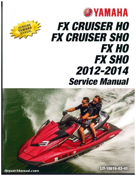 2012 Yamaha Fx Ho Owners Manual