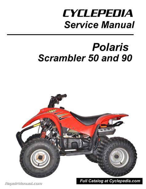 2013 2017 Polaris Youth 50 90 Atv Service Repair Manual