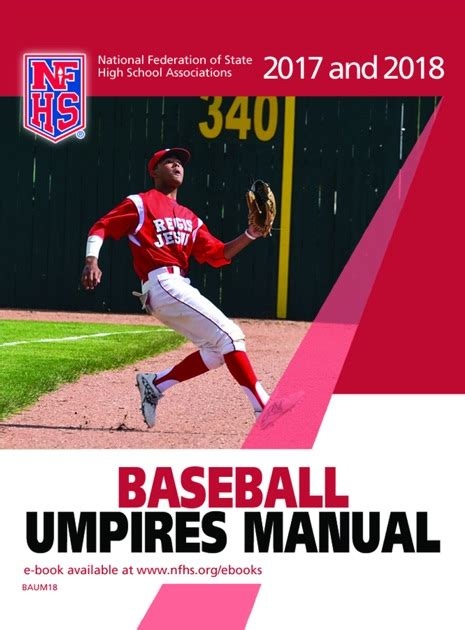 2013 Nfhs Baseball Umpire Manual