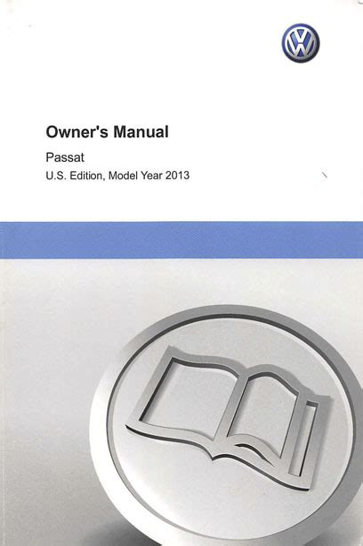 2013 Passat Owner Manual Tdi