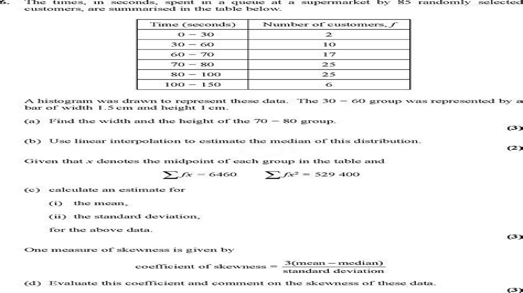 2014 June Edexcel Maths Paper