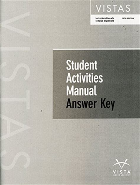 2015 Arriba Student Activities Manual Answers
