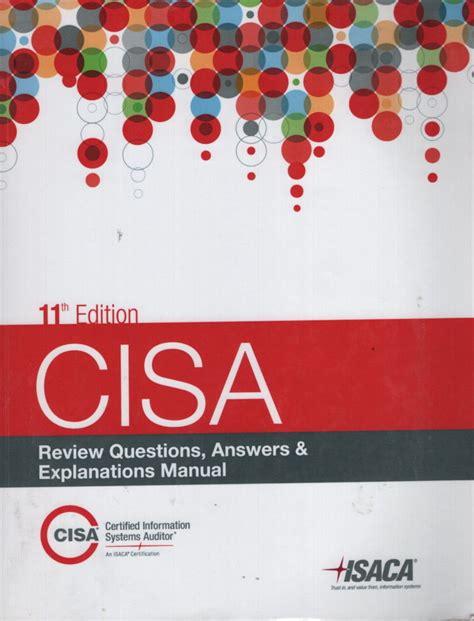 2015 Cisa Review Manual