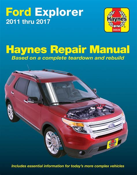 2015 Ford Explorer Haynes Manual