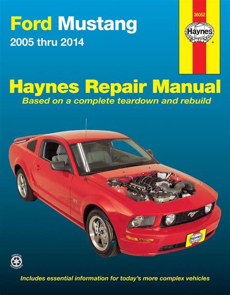 2015 Ford Mustang Haynes Manual
