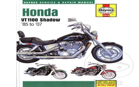2015 Honda Shadow Aero Service Manual