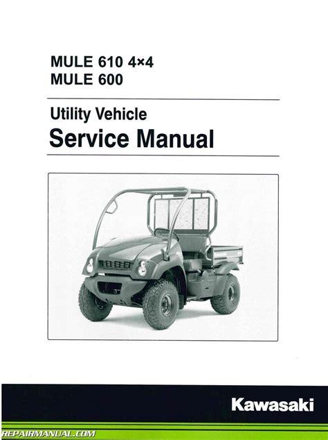 2015 Kawasaki Mule Service Manual
