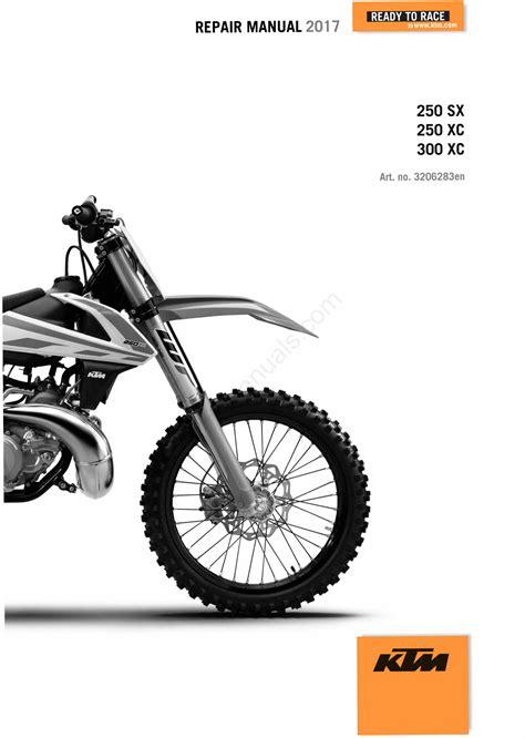 2015 Ktm 300 Exc Workshop Manual