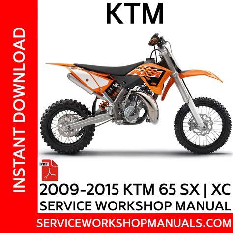 2015 Ktm Sx 65 Repair Manual