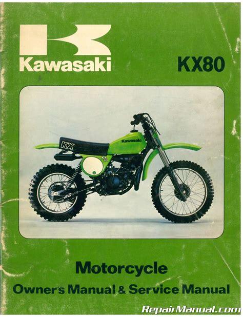 2015 Kx80 Manual