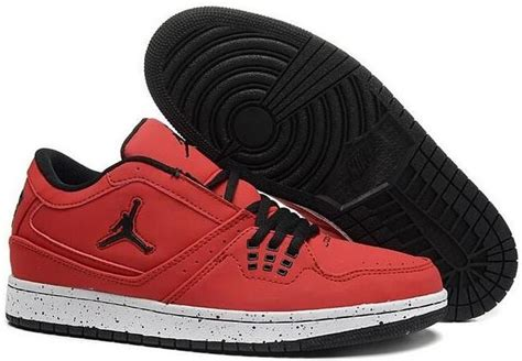 2015 New Air Jordan 1 Flight Low Red Black White Mens Shoes Nike Aj Sneakers P 2017