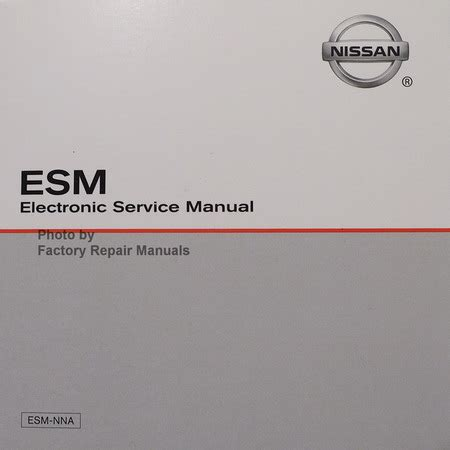 2015 Nissan Frontier Service And Repair Manual