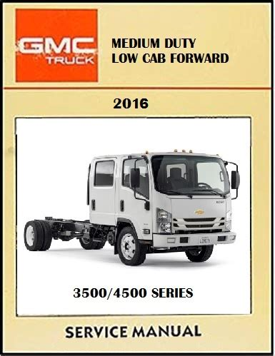 2016 Chevy 3500 Service Manual
