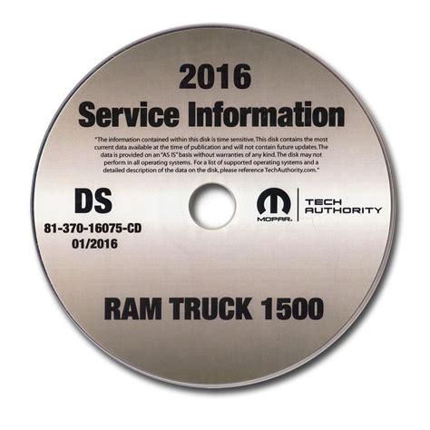 2016 Dodge Ram 1500 Factory Service Manual