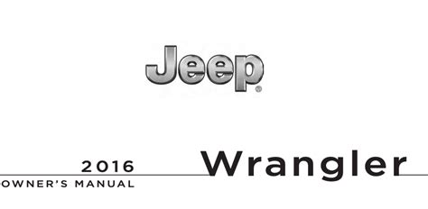 2016 Jeep Suburban Online Owners Manual