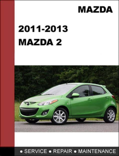 2016 Mazda 2 Repair Manual