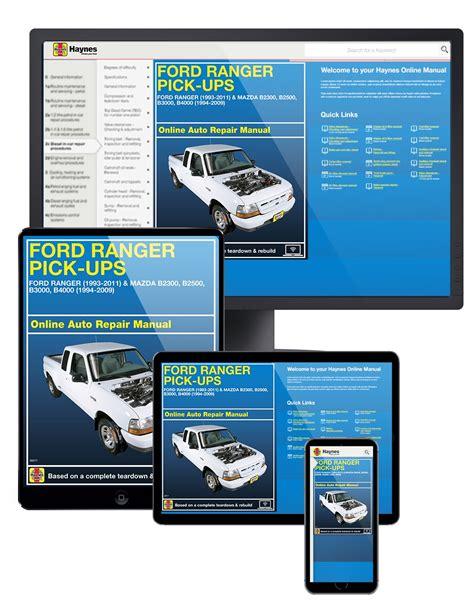 2016 Mazda B2500 Haynes Manual
