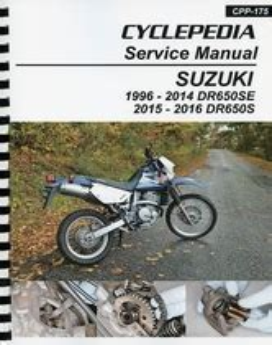 2016 Suzuki Dr650 Service Manual