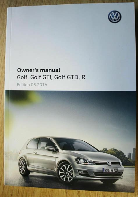 2016 Vw Gti Owner Manual
