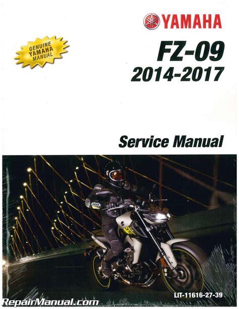 2016 Yamaha Fz Service Manual English
