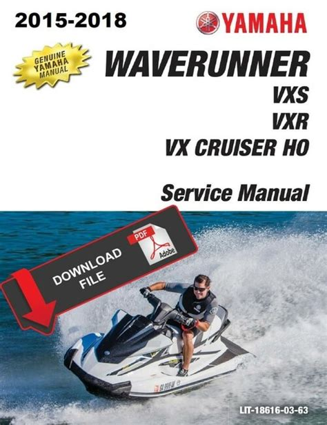2016 Yamaha Vx Deluxe Owners Manual