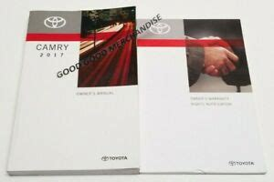 2017 Camry Se V6 Owners Manual