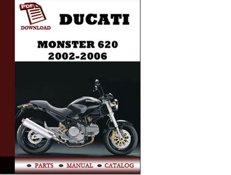 2017 Ducati Monster 620ie Service Manual