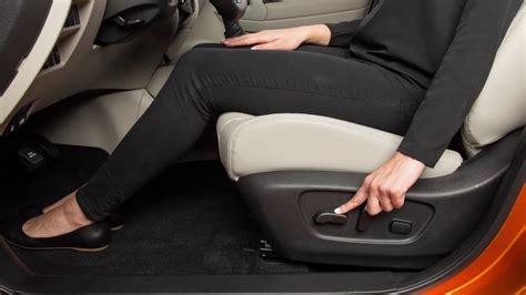 2017 Nissan Rogue Manual Seat Adjustment