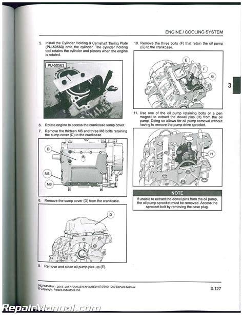 2017 Polaris Ranger 700 Xp Service Manual