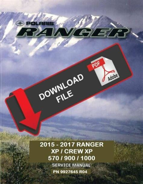 2017 Polaris Razor 900 Xp Service Manual