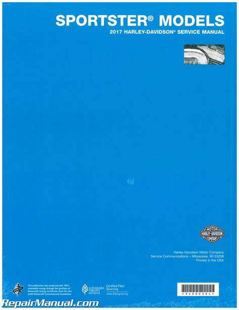 2017 Sportster Manual