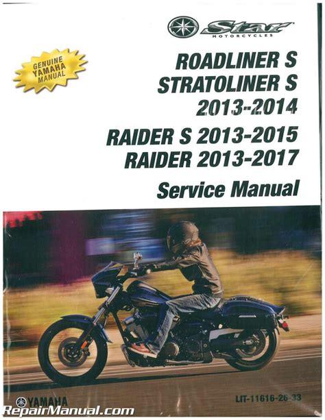 2017 Yamaha Raider Owner Manual