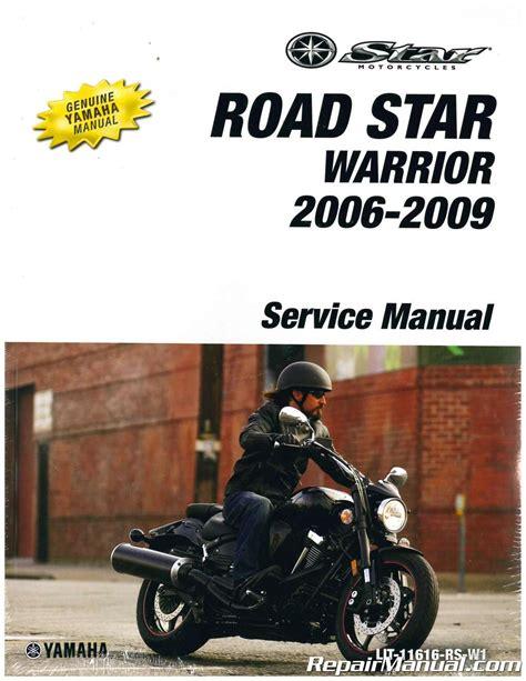 2017 Yamaha Road Star Warrior Repair Manual