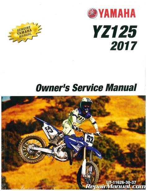 2017 Yz125 Service Manual