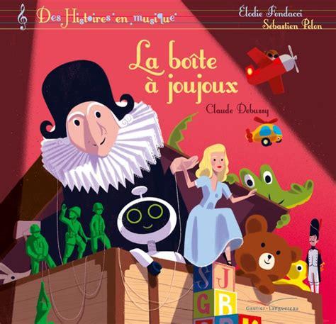 2017025135 La Boite A Joujoux Livre Cd