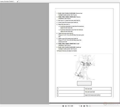 2018 Harley Softail Service Manual