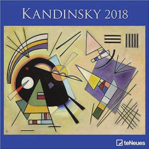 2018 Kandinsky Calender Teneues Grid Calendar Art Calender 30 X 30 Cm