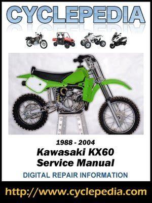 2018 Kawasaki Kx60 Manual