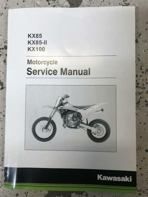 2018 Kx100 Service Manual