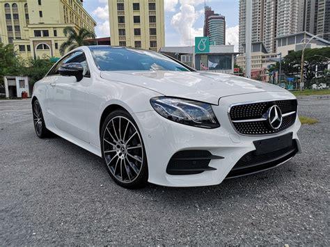 2018 Mercedes Benz E200 Manual