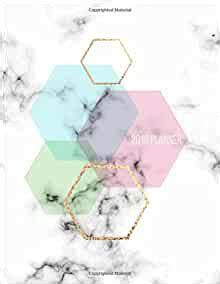 2018 Planner Marble Gold Weekly Planner Organizer Motivational Quotes To Do Lists Volume 1 Marble And Gold Planners