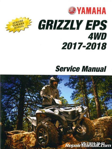 2018 Yamaha Grizzly 80 Operators Manual