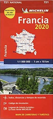 2067226525 Mapa National Francia Mapas National Michelin