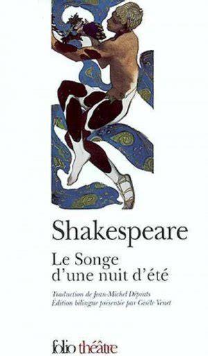2070424928 Le Songe D Une Nuit D Ete Shakespeare Prepas Scientifiques 2018 2019 Edition Prescrite