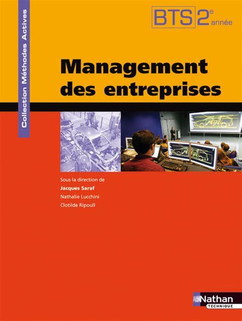 2091627666 Management Des Entreprises Bts 2e Annee