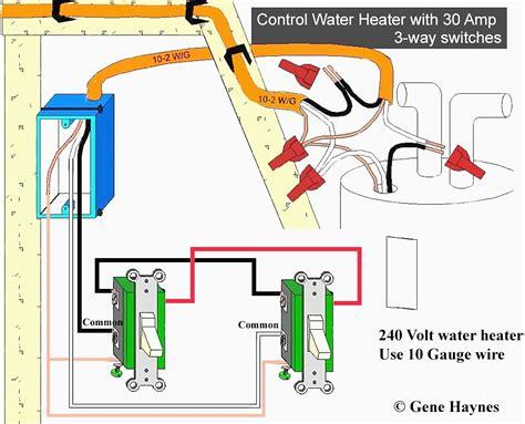 220 Double Pole Light Switch Diagram
