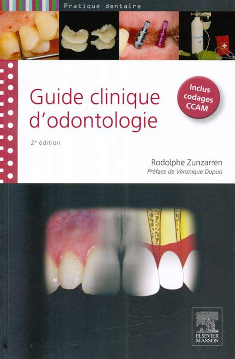 2294738772 Guide Clinique D Odontologie