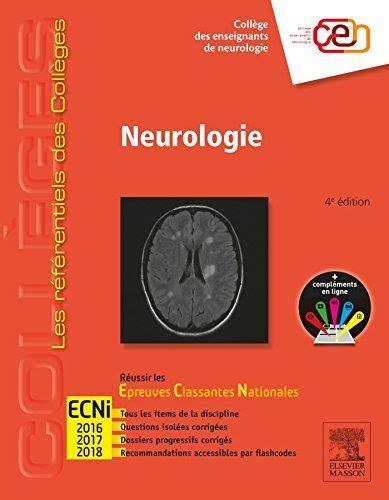 2294743865 Neurologie Reussir Les Ecni