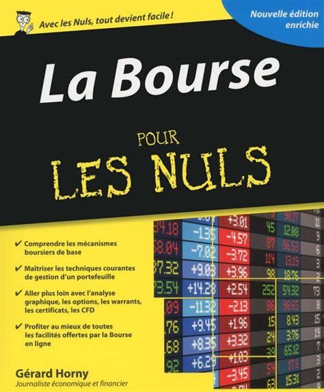 2412022631 La Bourse Pour Les Nuls